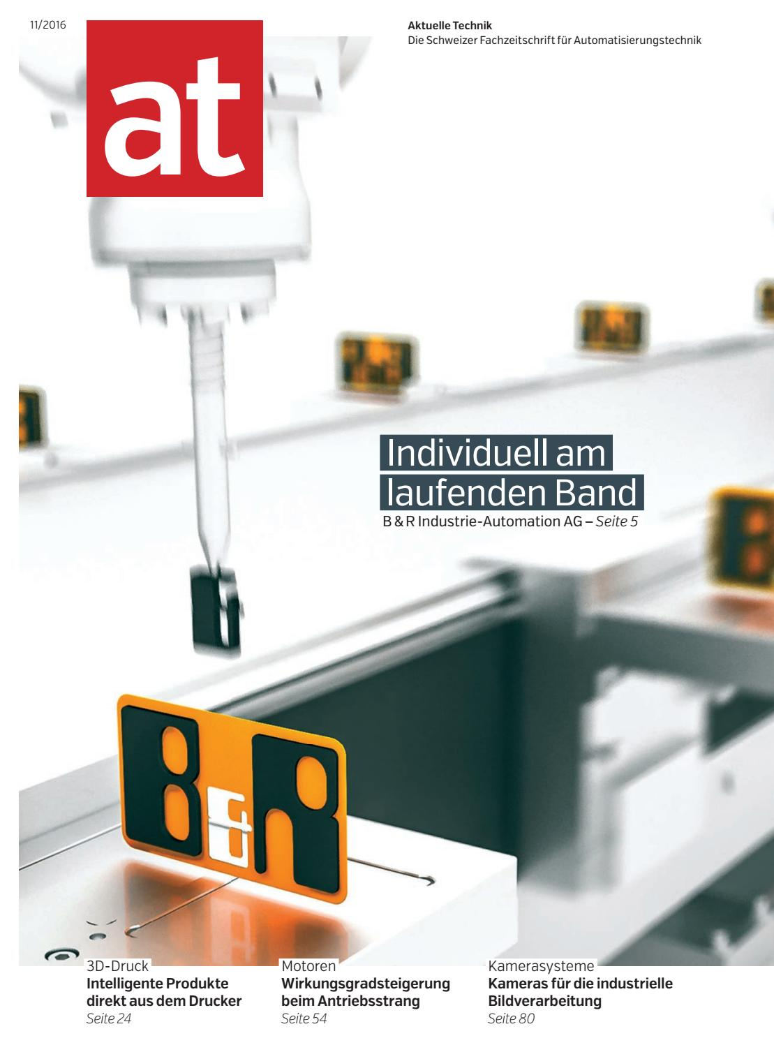 at - Aktuelle Technik 11 2016 by BL Verlag AG - issuu