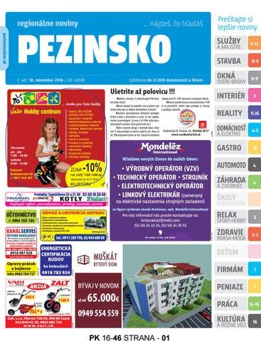 6ce2f0708 PEZINSKO 16-46 by pezinsko - issuu