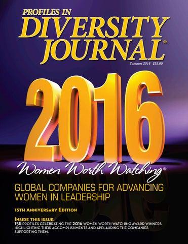 Diversity Journal - Women Worth Watching 2016 by Diversity