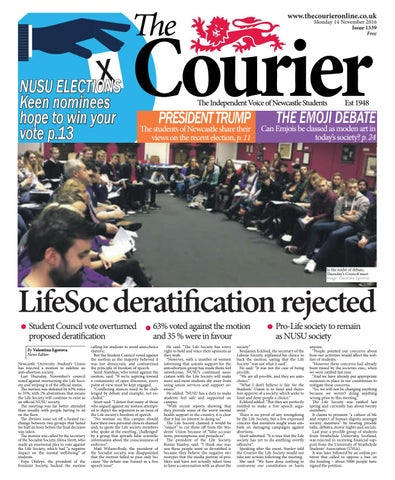 54de70aa9 Courier 1339 by The Courier Online - issuu