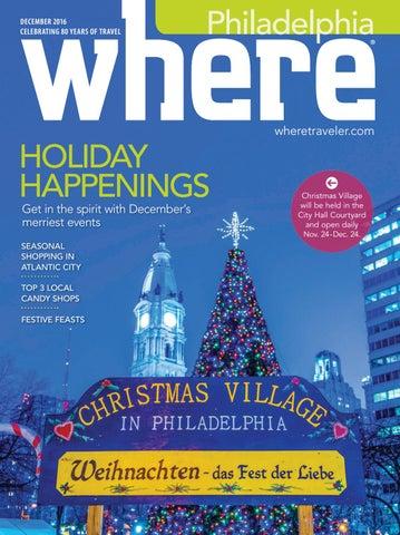 007c587a8ce Where Philadelphia December 2016 by Morris Media Network - issuu