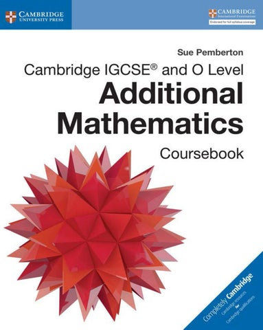 Preview Cambridge Igcse 174 And O Level Additional