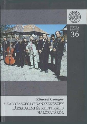 191e66184c Könczei Csongor: A kalotaszegi cigányzenészek társadalmi és ...