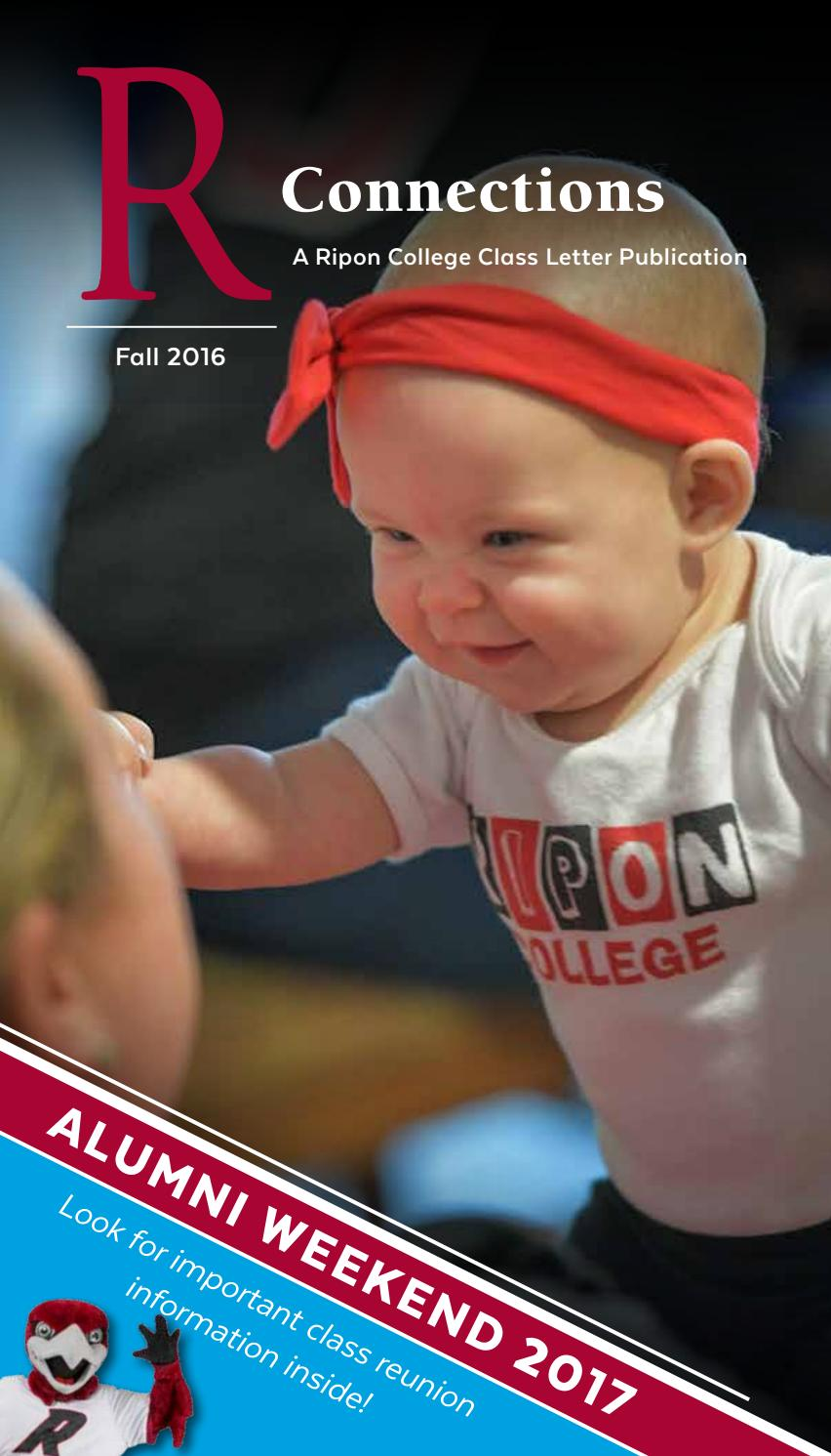 R Connections Fall 2016 by Ripon College - issuu
