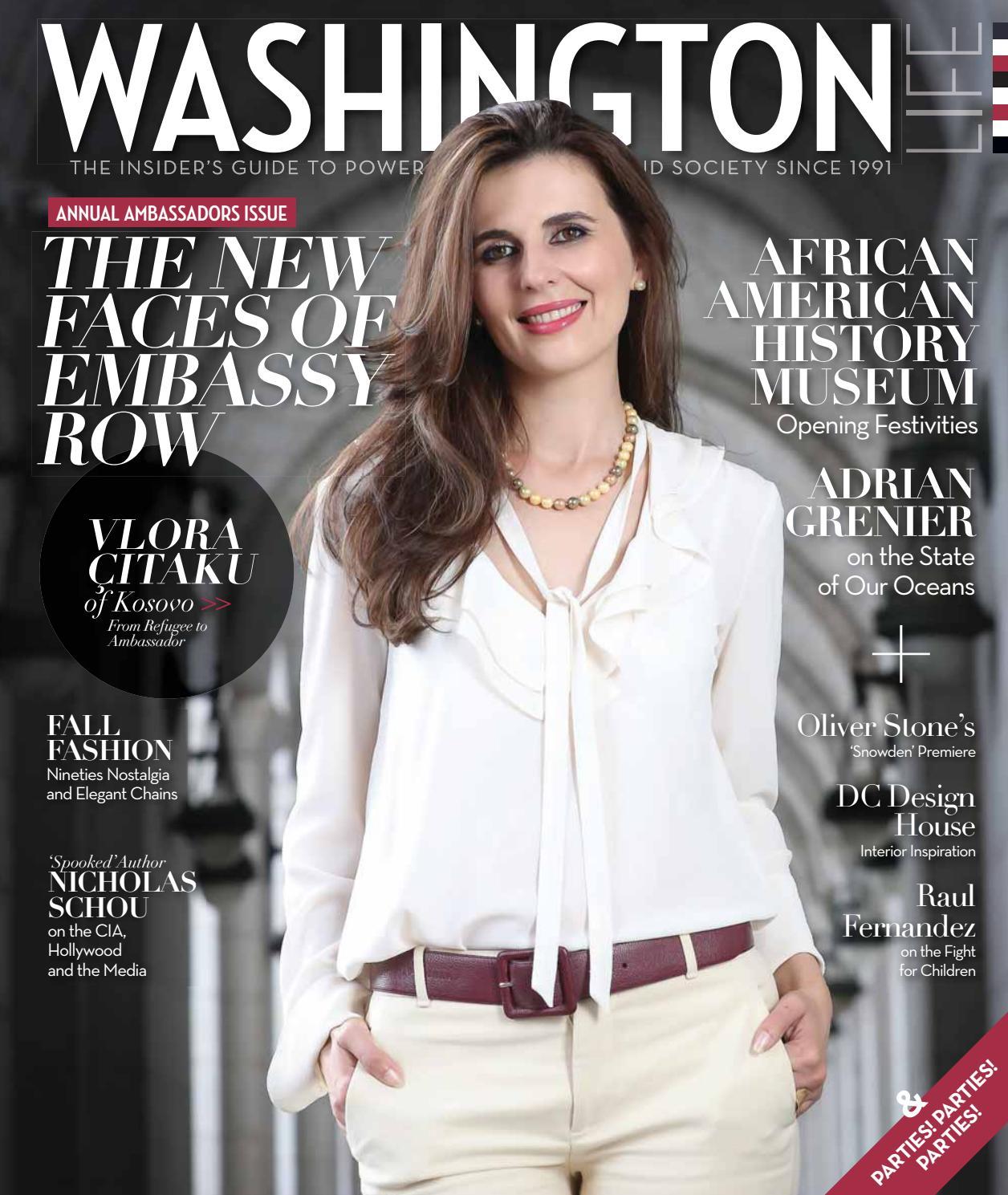 Washington Life Magazine - October 2016 by Washington Life Magazine - issuu