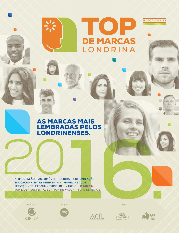 fb40e01c5 Revista Top de Marcas Londrina 2016 by Brand   Brand Comunicação - issuu