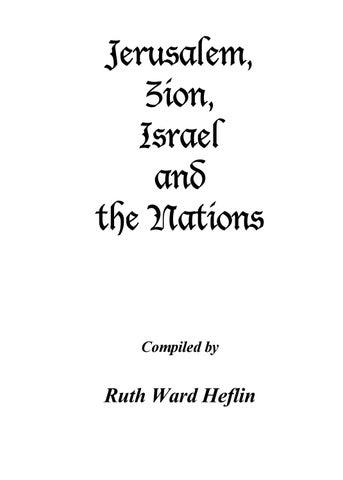 Ruth Heflin Glory Book