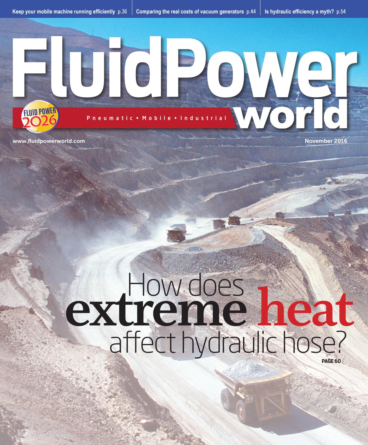 Fluid Power World November 2016 by WTWH Media LLC - issuu