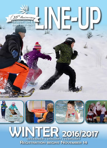 Winter 2016 Activity Guide by ERBM Recreation & Park