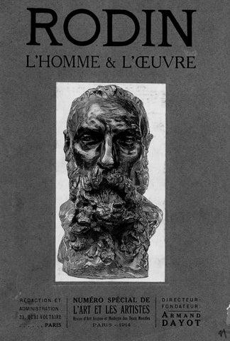d0e03e5e5e Rodin l'homme et l'oeuvre, 1914 by Bibliothèque / beaux-arts ...