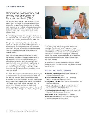 UCSF Obstetrics, Gynecology & Reproductive Sciences 2016