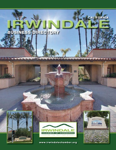 Irwindale CA Chamber Guide by Town Square Publications, LLC - issuu