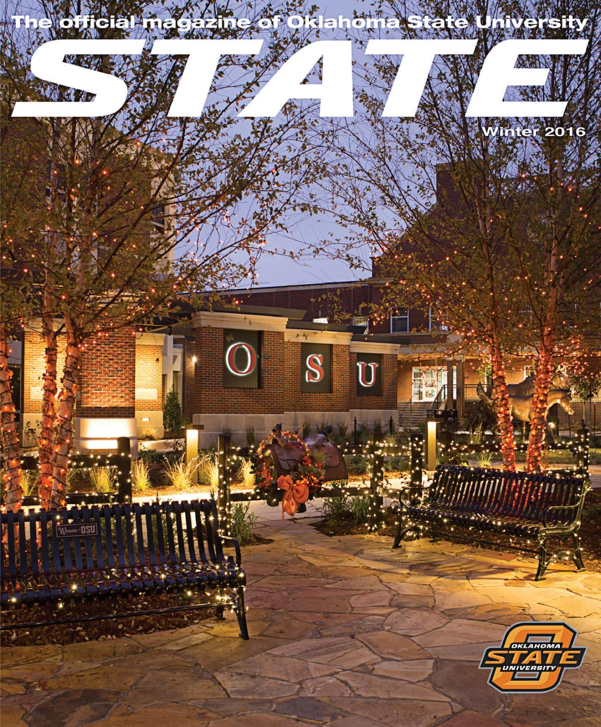 state magazine winter 2016 by oklahoma state - issuu