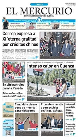 hemeroteca 18-11-2016 by Diario El Mercurio Cuenca - issuu 7e3d48ff854