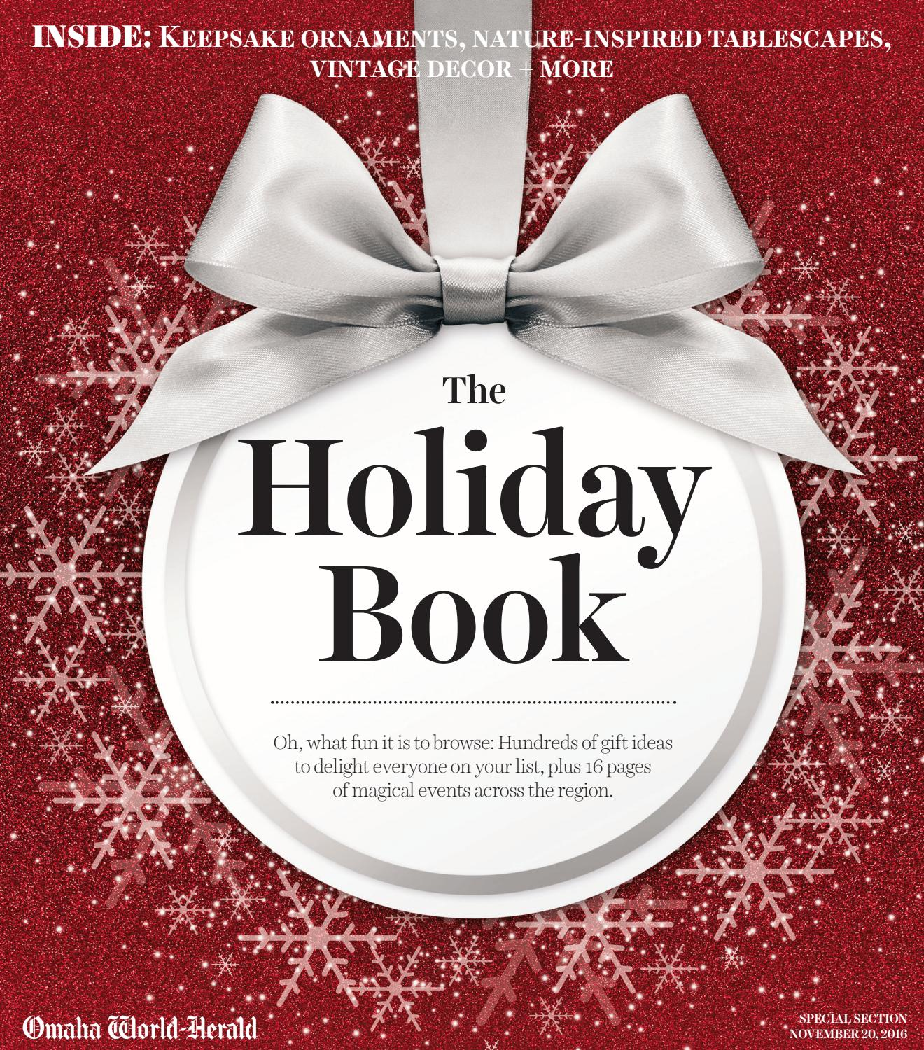 The Holiday Book By Omaha World Herald