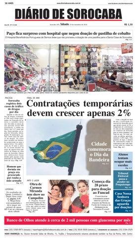 92b7577f64497 Edição de 19 de novembro de 2016 by DIÁRIO DE SOROCABA - issuu
