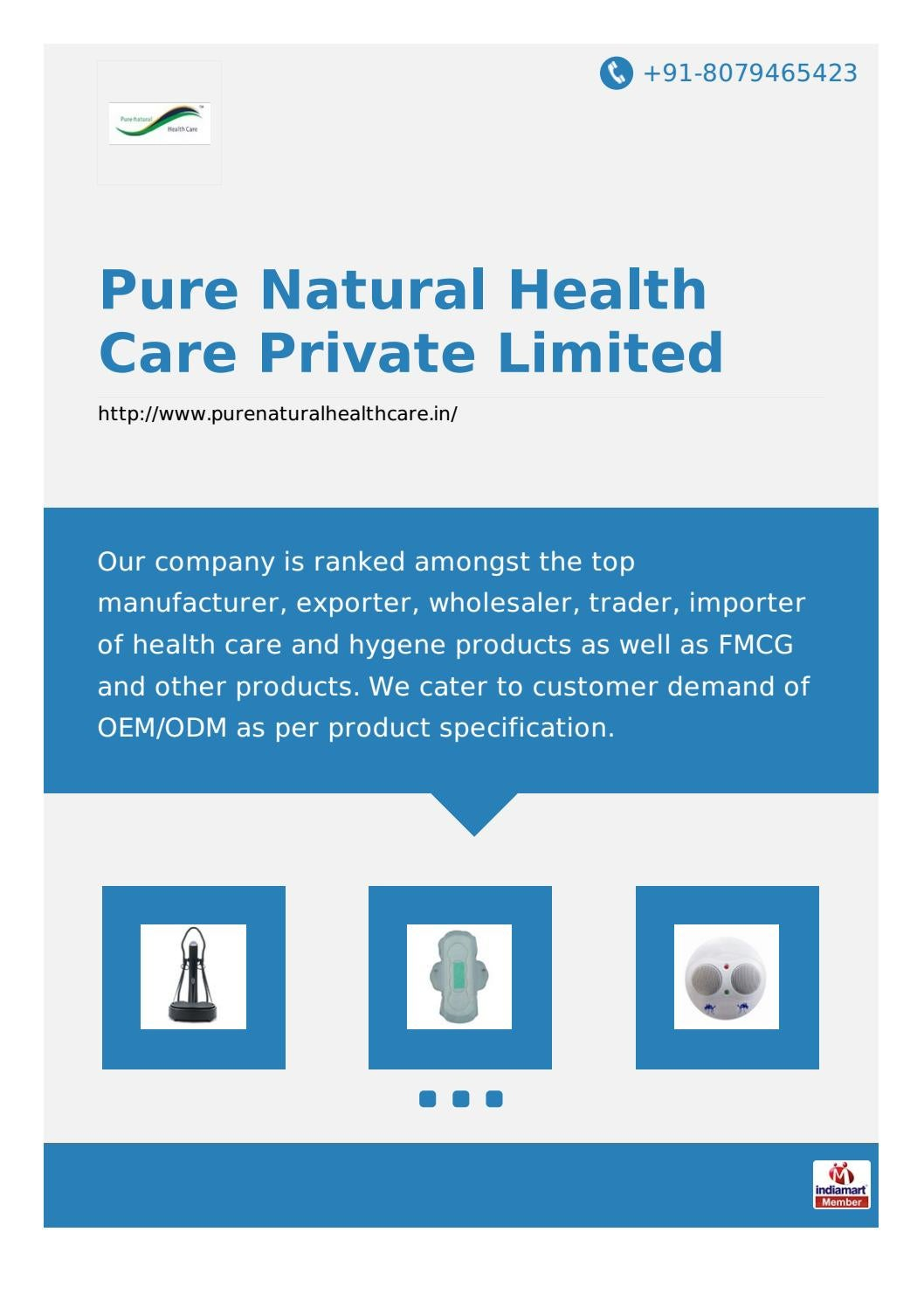 Care exporter health herbal product - Pure Natural Health Care Private Limited By Pure Natural Health Care Private Limited Issuu