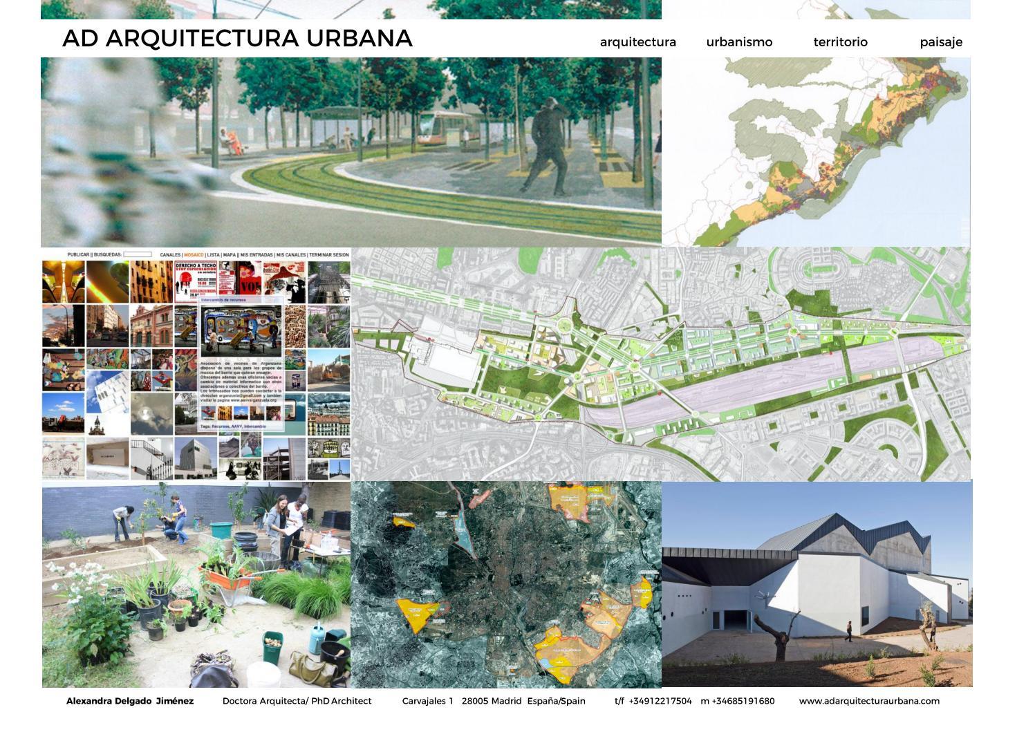 Ad Arquitectura Urbana Alexandra Delgado By Ad