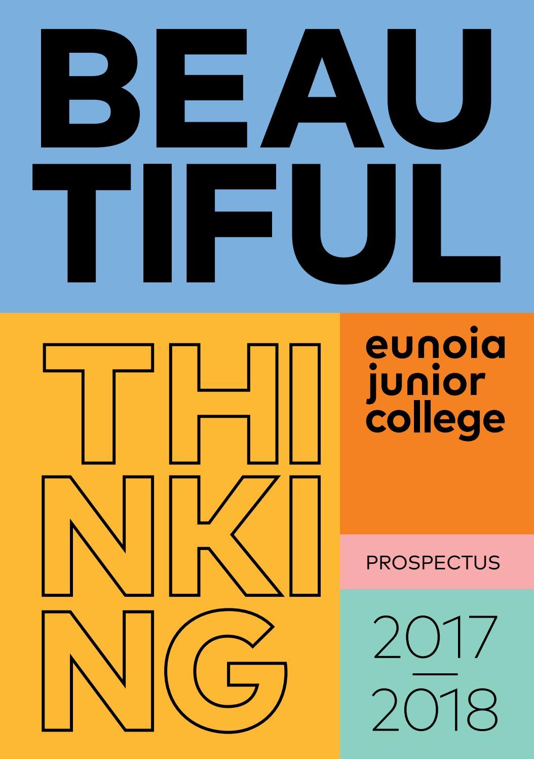 Eunoia Junior College Prospectus 2017-18 by Eunoia Junior