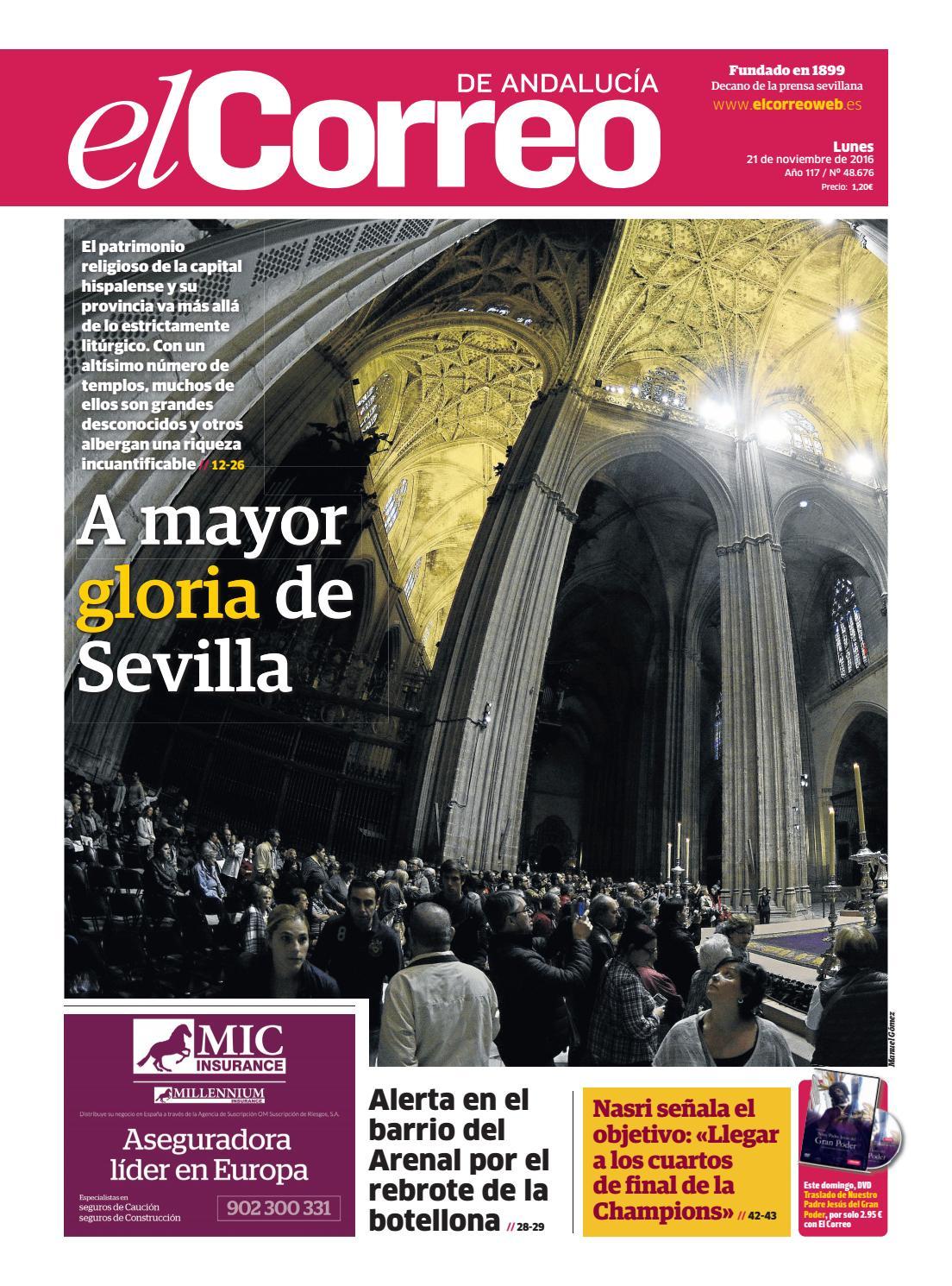 21 11 2016 El Correo de Andalucía by EL CORREO DE ANDALUCÍA S.L. - issuu 20c2f49f37a