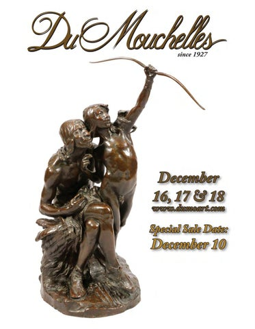 659be3a6fa96 DuMouchelle Art Gallery 2016 December 10th, 16th-18th Auction by ...