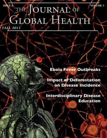 Fall 2013 By The Journal Of Global Health Issuu