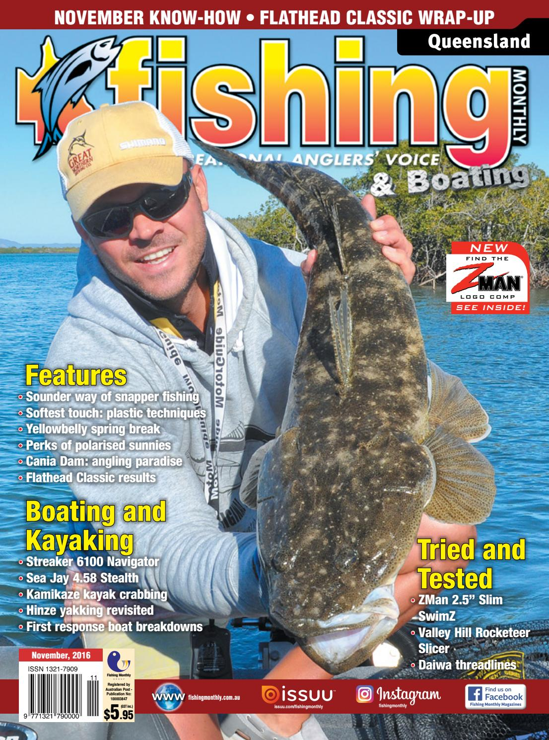 e3f974ed7c Queensland Fishing Monthly November 2016 by Fishing Monthly - issuu