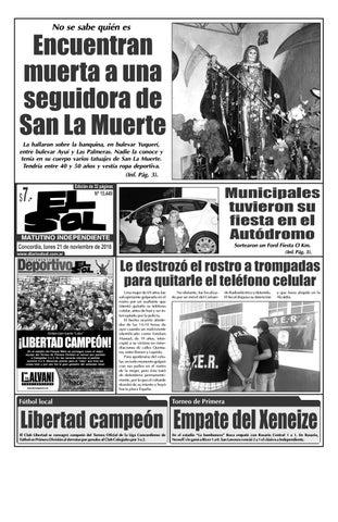 Diario El Sol (Lunes 21 noviembre 2016) by Diario El Sol - issuu 526c01962d371