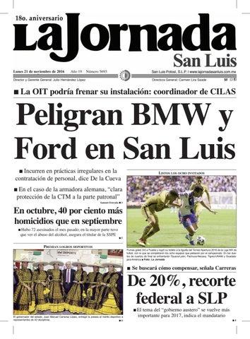 Peligran BMW y Ford en San Luis by La Jornada San Luis - issuu 3f7608b1ad4f7