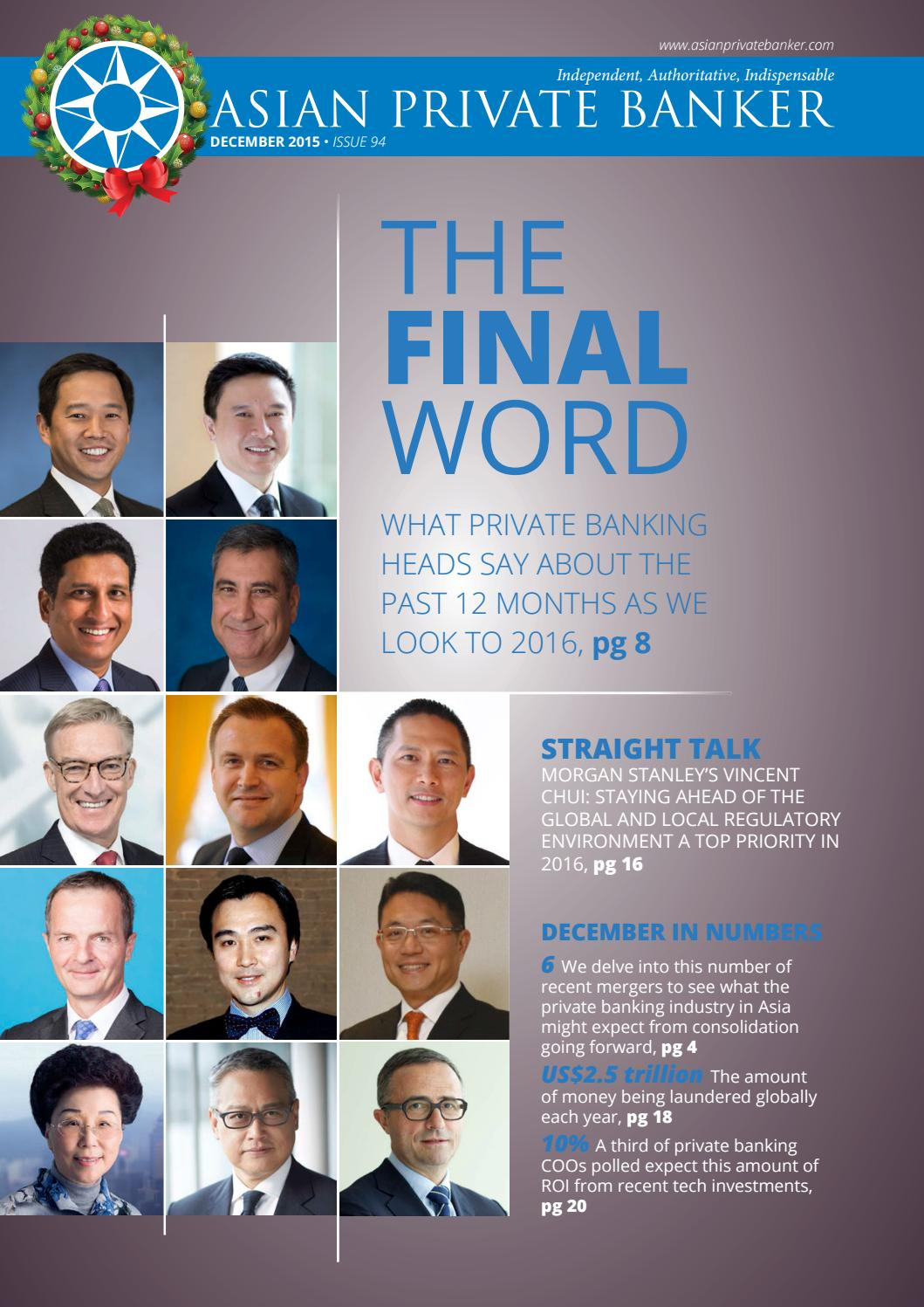 Issue 94 December 2015 Lite by Asian Private Banker - issuu