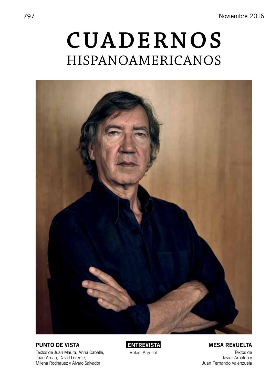 Cuadernos Hispanoamericanos (nº 797, noviembre 2016) by AECID ...