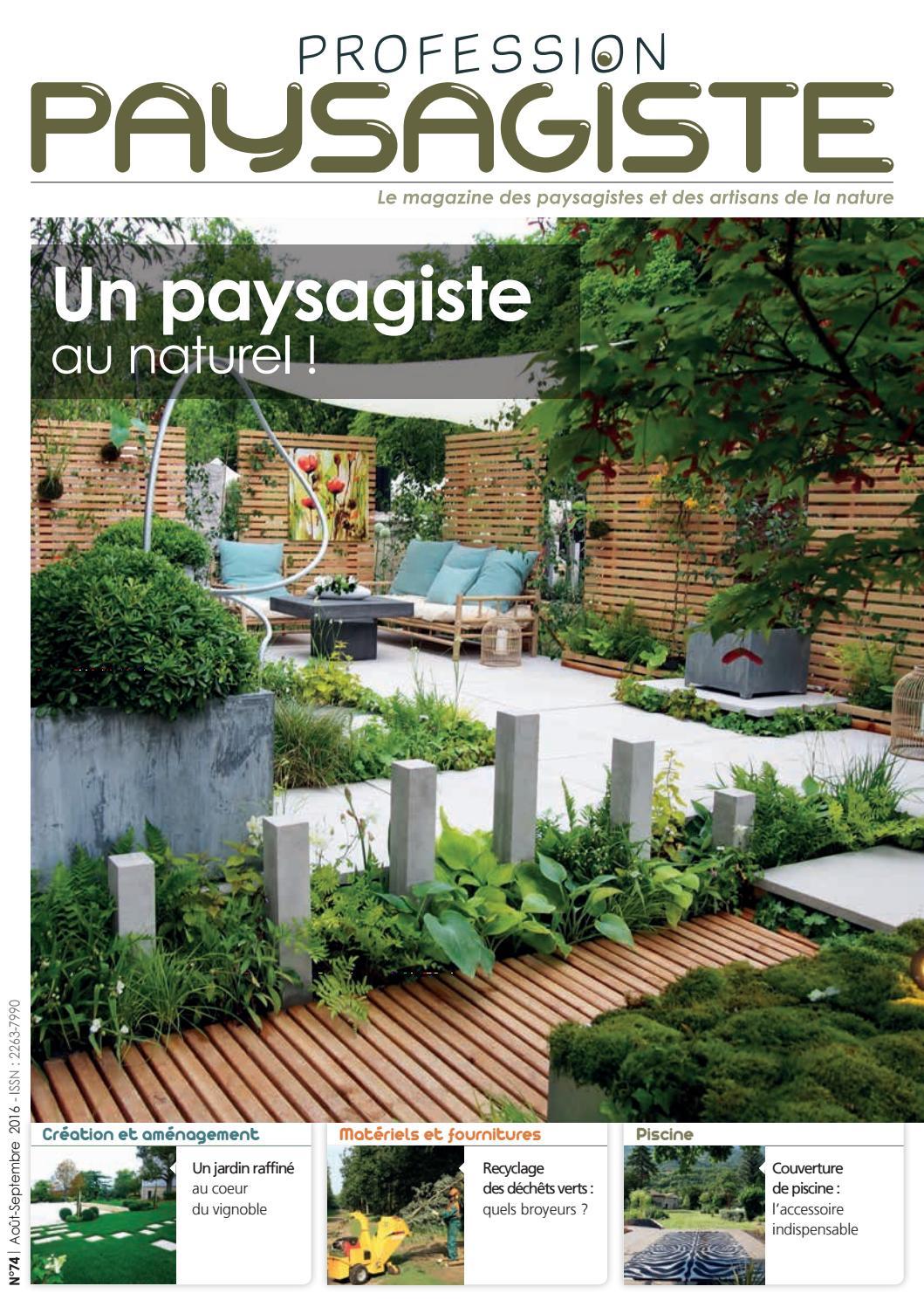 profession paysagiste 174 ao t septembre 2016 by les. Black Bedroom Furniture Sets. Home Design Ideas