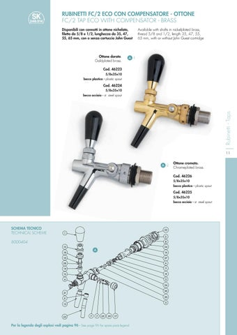 Taps And Accesories Catalogue By Celli Group