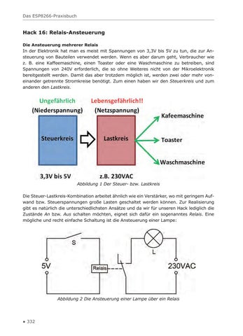 Das ESP8266-Praxisbuch (Leseprobe) by Elektor - issuu