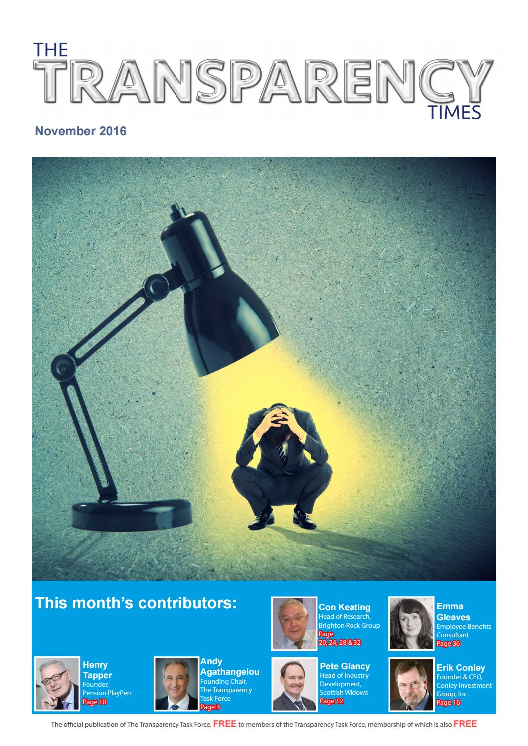 The transparency times edition 7 november 2016 by transparency task the transparency times edition 7 november 2016 by transparency task force issuu fandeluxe Choice Image