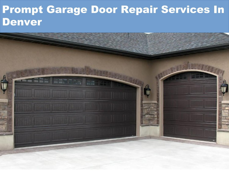 Reliabe emergency garage door repair services in denver by for Garage door repair lakewood