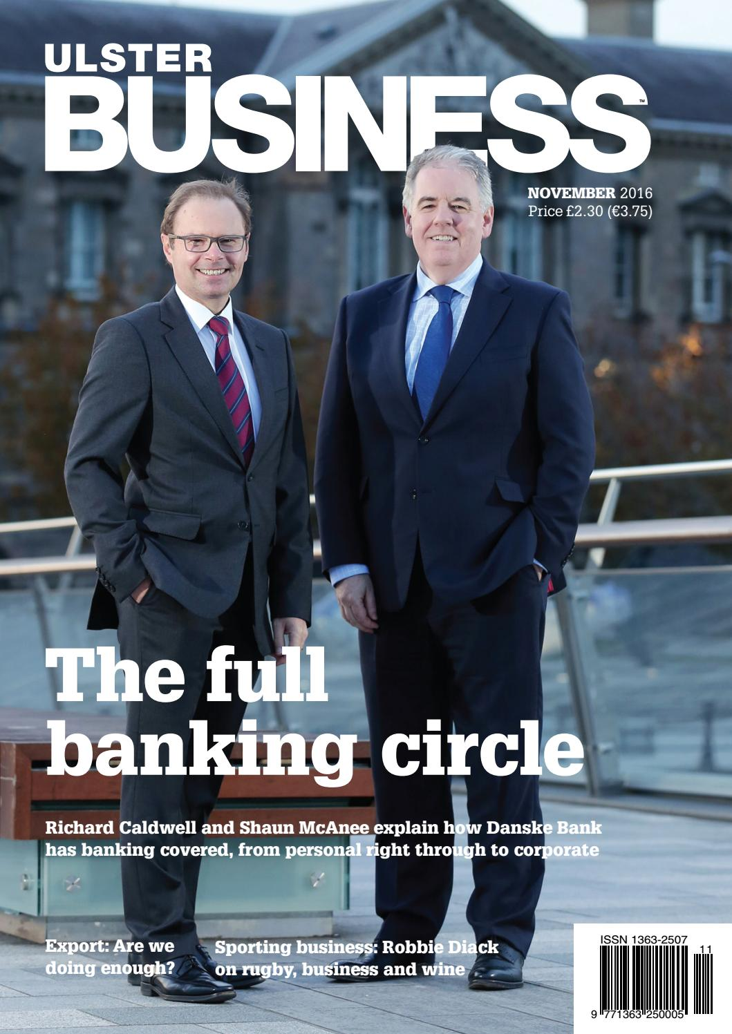 be3aa4090373 Ulster Business - November 2016 by Ulster Business - issuu