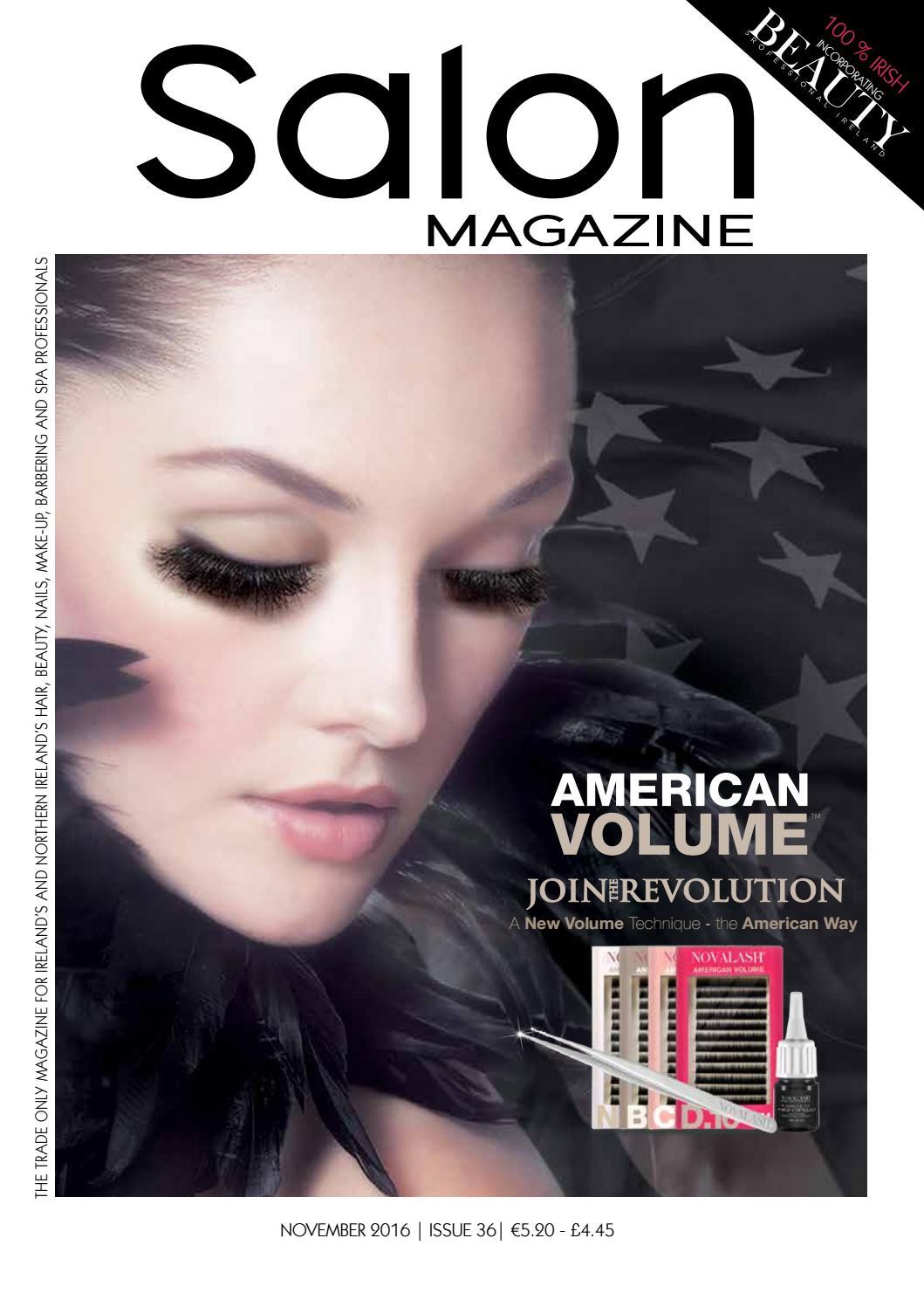 November Salon Magazine By Salon Spa Ireland Magazine Irish