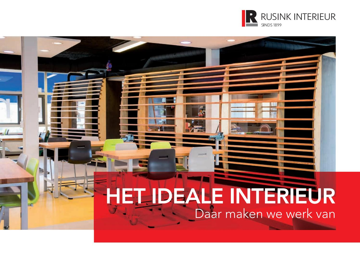 Brochure rusink Interieurbouw by Rusink Interieur B.V. - issuu