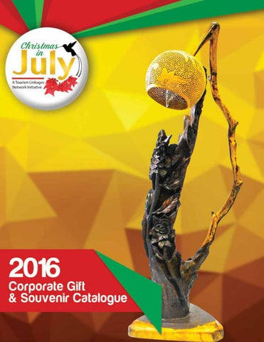Christmas in July 2016 Corporate Gift & Souvenir Catalogue  by