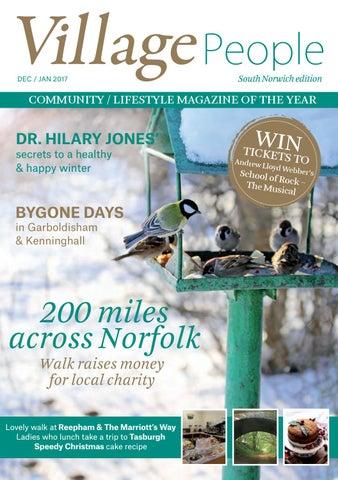 Cake Art Seventeen Mile Rocks : Village People South Norwich edition - Dec/Jan 17 (Winter ...