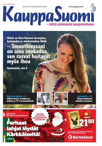 KauppaSuomi 47 2016 (VALTAKUNNALLINEN) by KauppaSuomi - issuu 4334fe907b