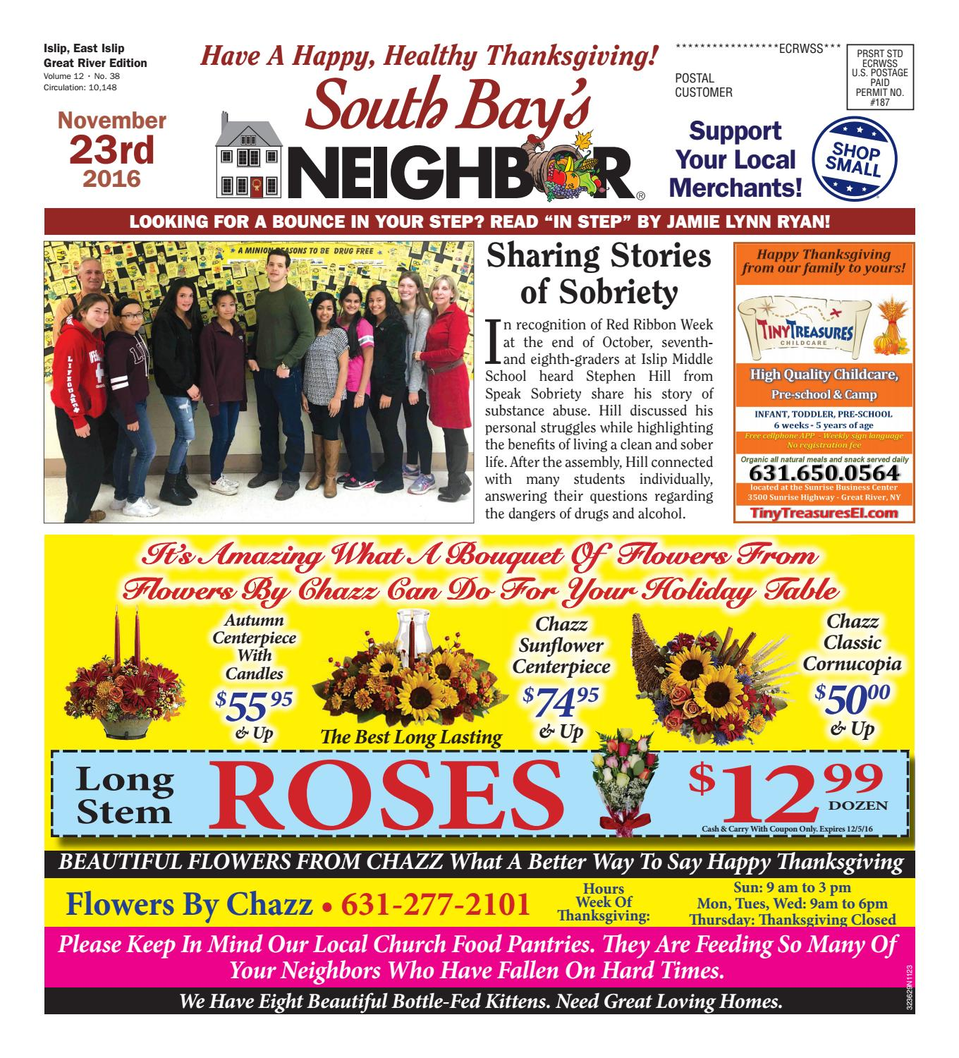November 23 2016 Islip by South Bay s Neighbor Newspapers issuu