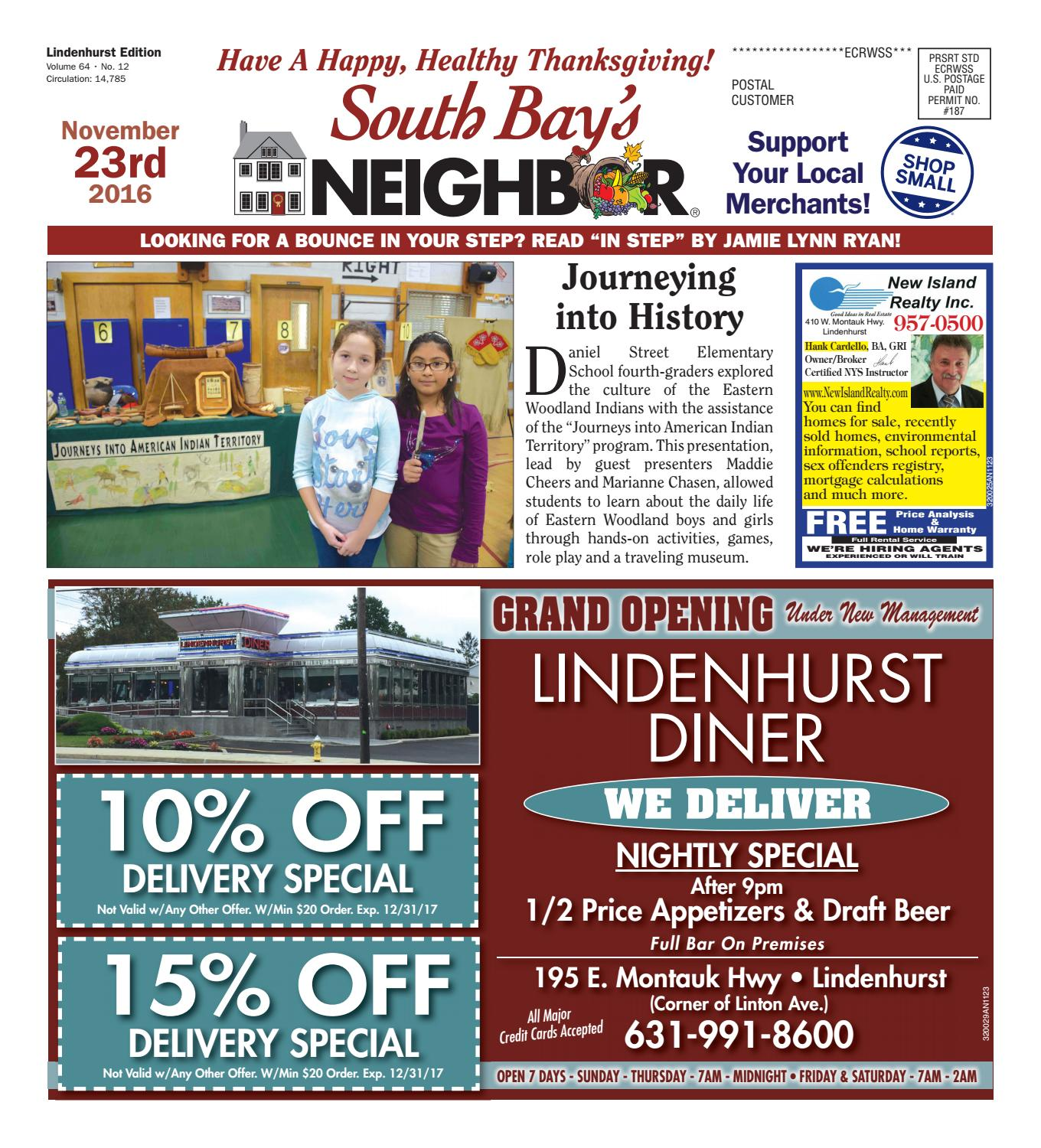 November 23 2016 Lindenhurst by South Bay s Neighbor Newspapers issuu