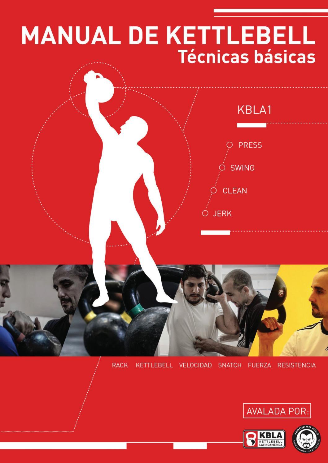 Manual de kettlebells nivel 1 kbla 2016 alta calidad by lahuel rojas ...
