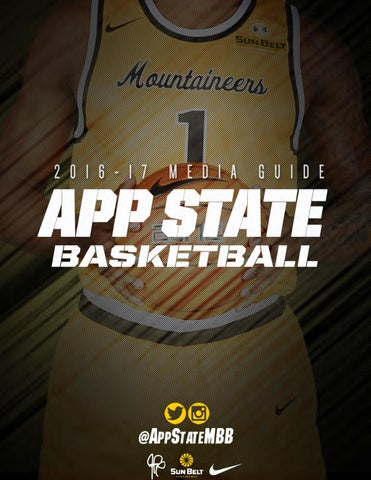 94b3bd7ee44 2016-17 Appalachian State Men s Basketball Media Guide by ...