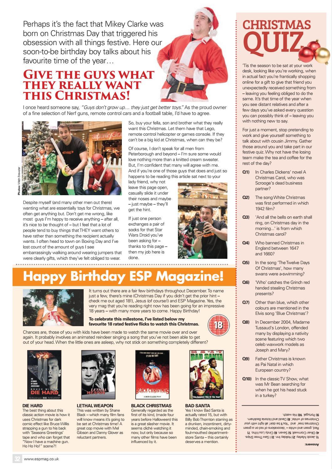 ESP December 2016 by ESP Magazine - issuu