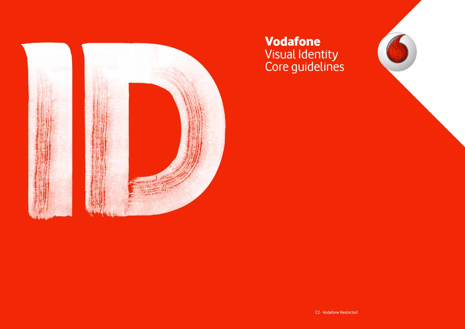 Vodafone Visual Identity - core guidelines by LOGOBR - issuu 5029986a4fb