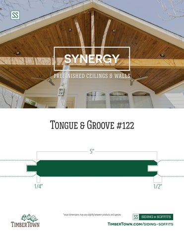 Tongue Groove 122 5
