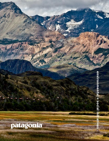 849d02b3 IN MEMORY OF DOUG TOMPKINS At Patagonia, we frequently receive compliments  for the